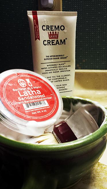 Creamo Cream as pre-shave.